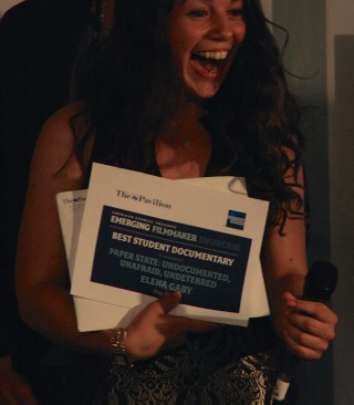 Elena Gaby winner, Best Student Documentary