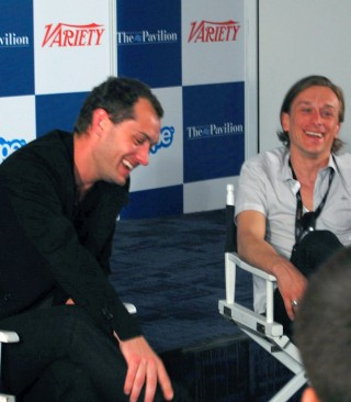 Jude Law at The American Pavilion