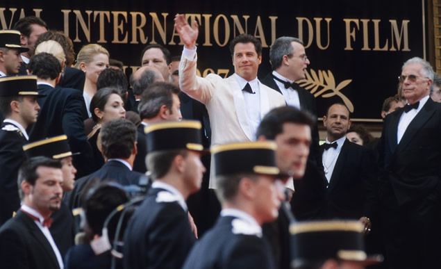 John Travolta, Cannes International Film Festival